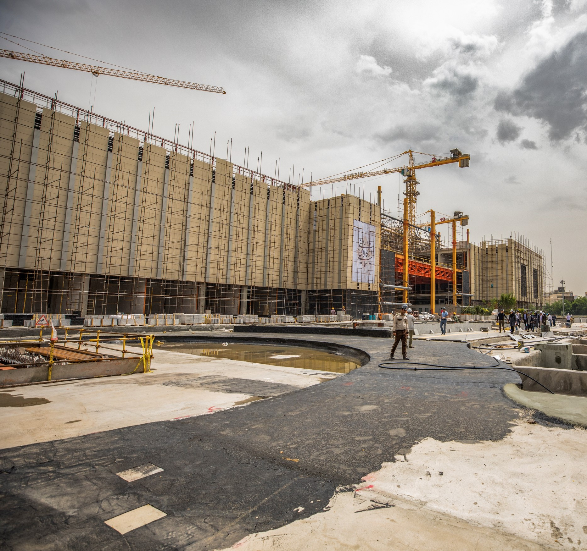Systematica_Mashhad Mall_Under Construction