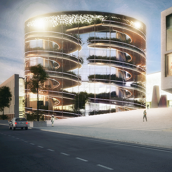 Milan Ortomercato_Regeneration Project_Render View