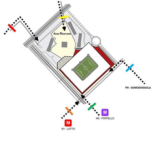 Systematica-AC Milan Stadium-Inbound Pedestrian Flows
