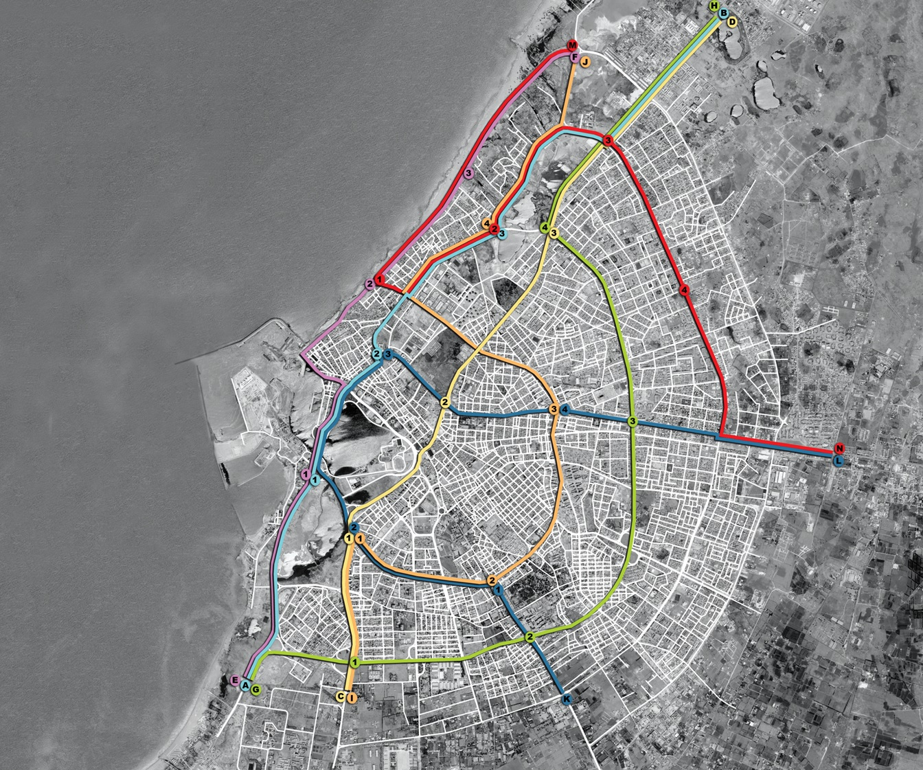 Systematica-Benghazi Mobility Master Plan_Public Transport Network