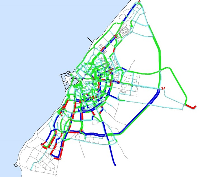 Systematica-Benghazi Mobility Master Plan_Vehicular Traffic Volume