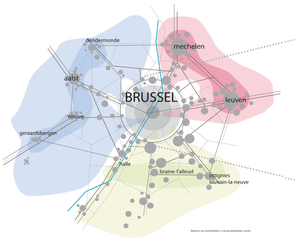 Systematica-Brussels 2040-Network of Centralities