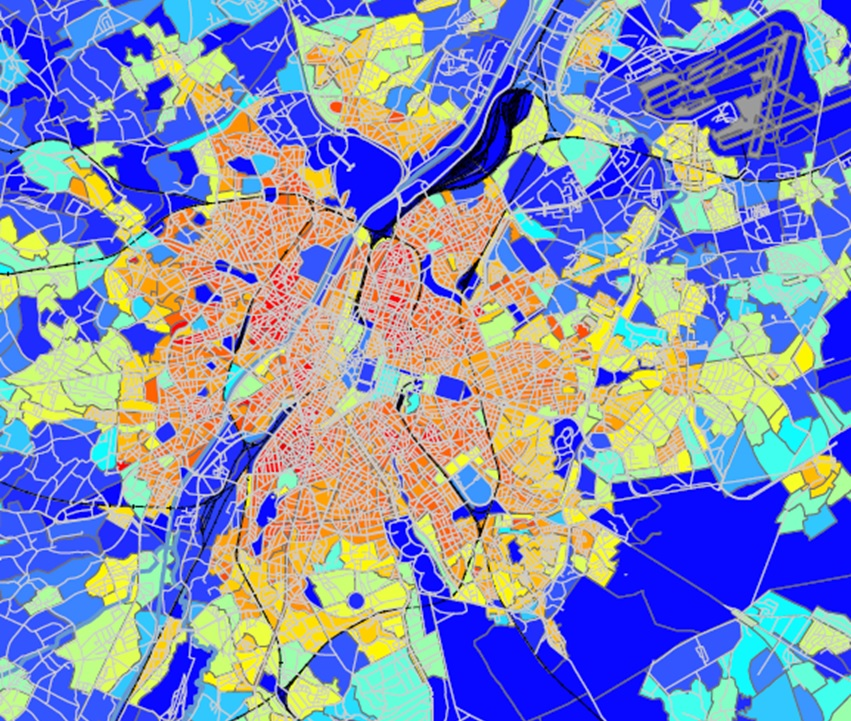 Systematica-Brussels 2040-Transit Oriented Areas