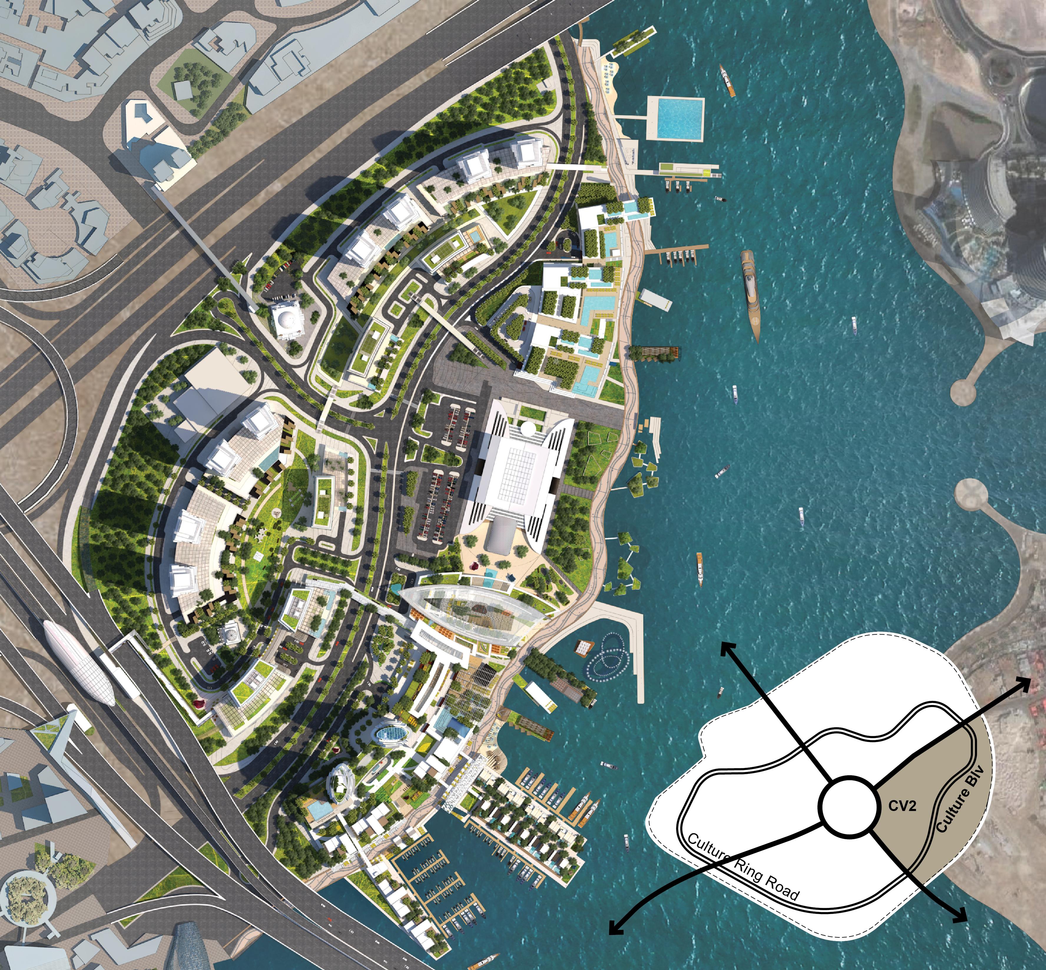 Systematica-CV2 Dubai-Aerial View