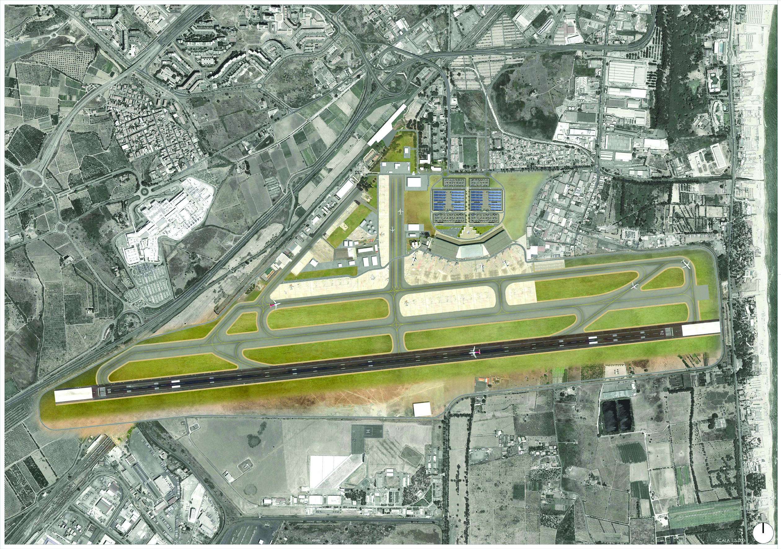 Systematica-Catania Airport-Airport Master Plan