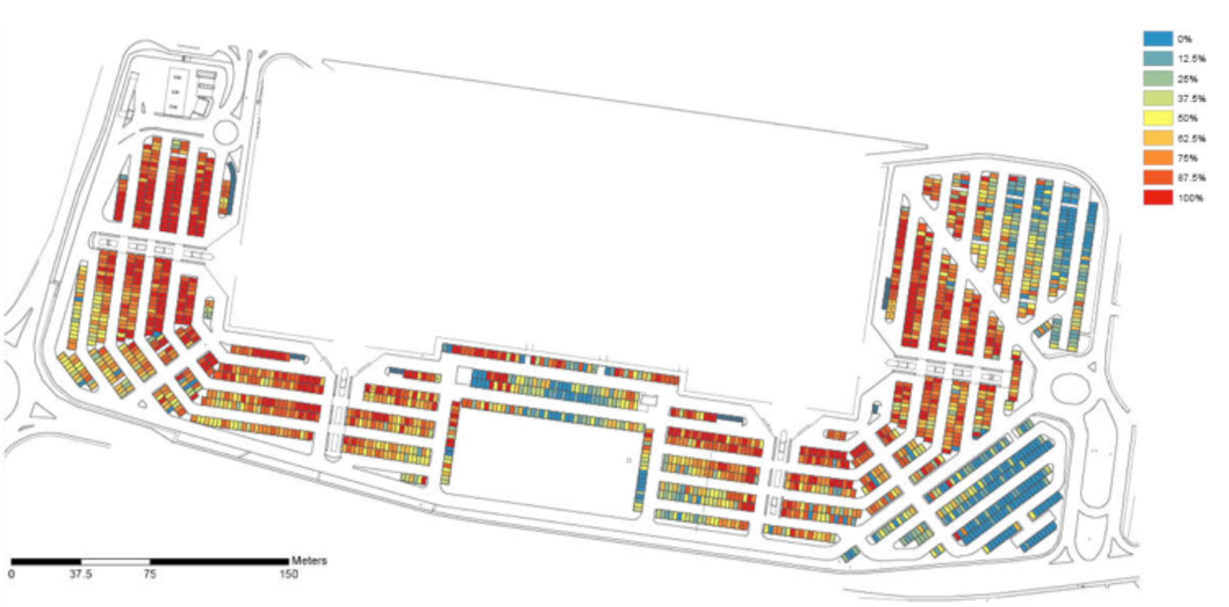 Systematica-Curno Shopping Centre-Parking Occupancy Index