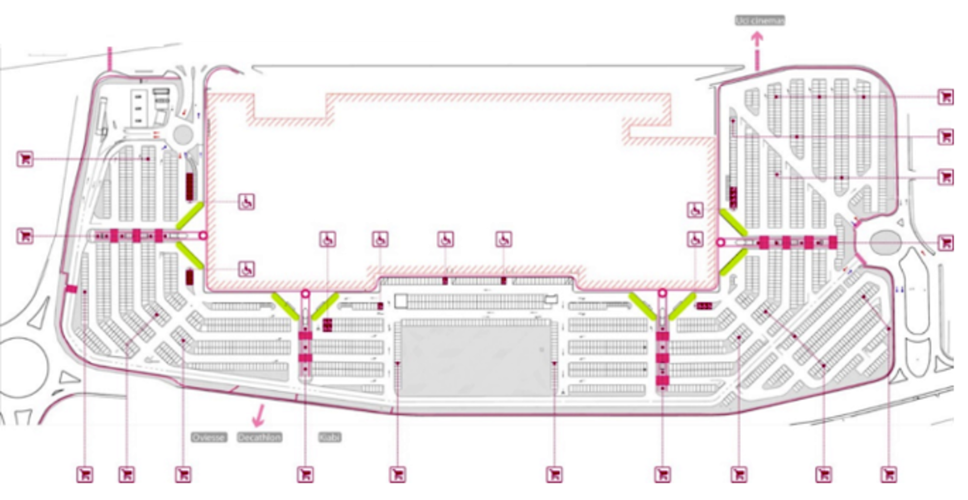 Systematica-Curno Shopping Centre-People Movement Route Analysis