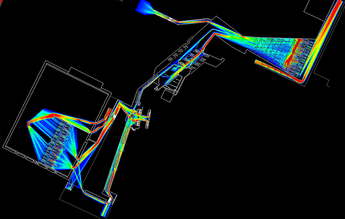 Systematica-EXPO 2015-West Gate Pedestrian Flow Simulation