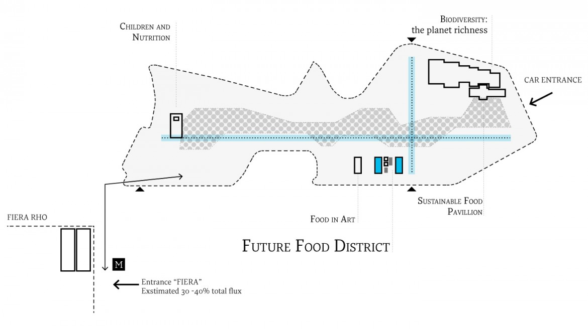 Systematica-Future Food District- FFD Pavilion within EXPO Master Plan