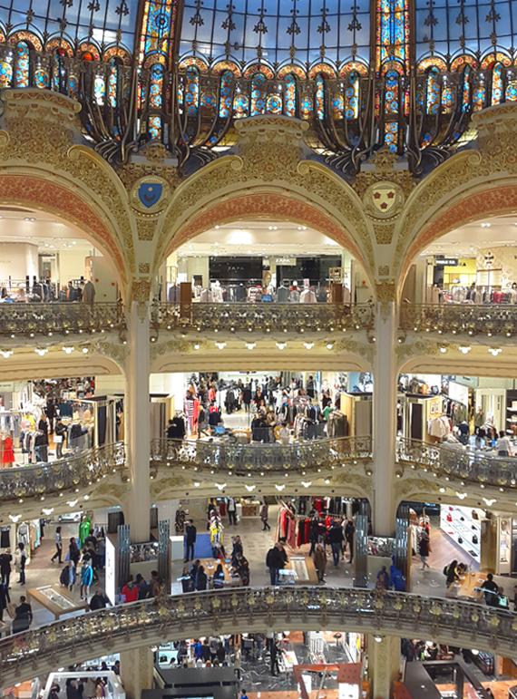 Systematica-Galeries Lafayette - Haussmann-Interior View