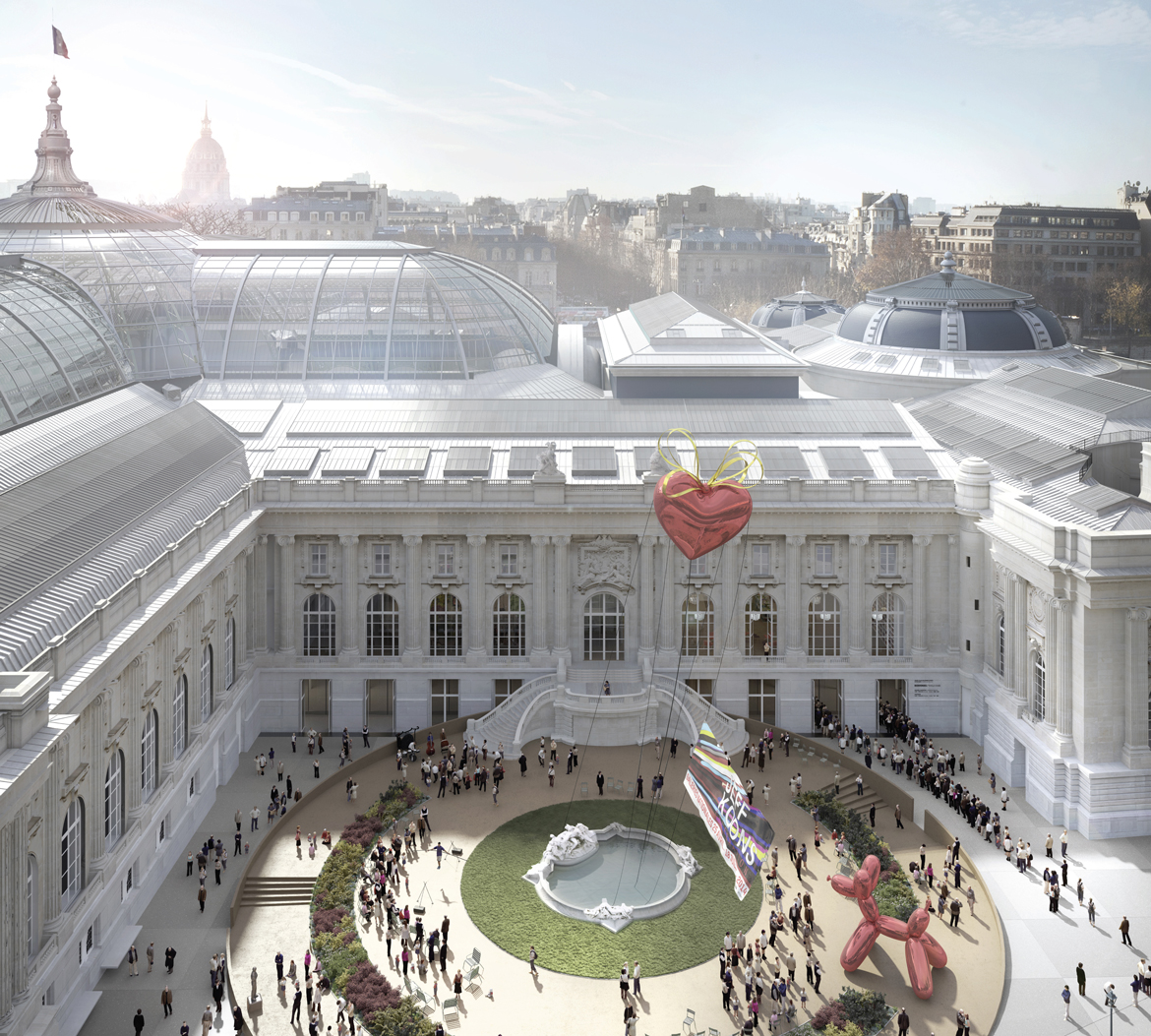 Systematica-Grand Palais Museum-Exterior Views of the Project