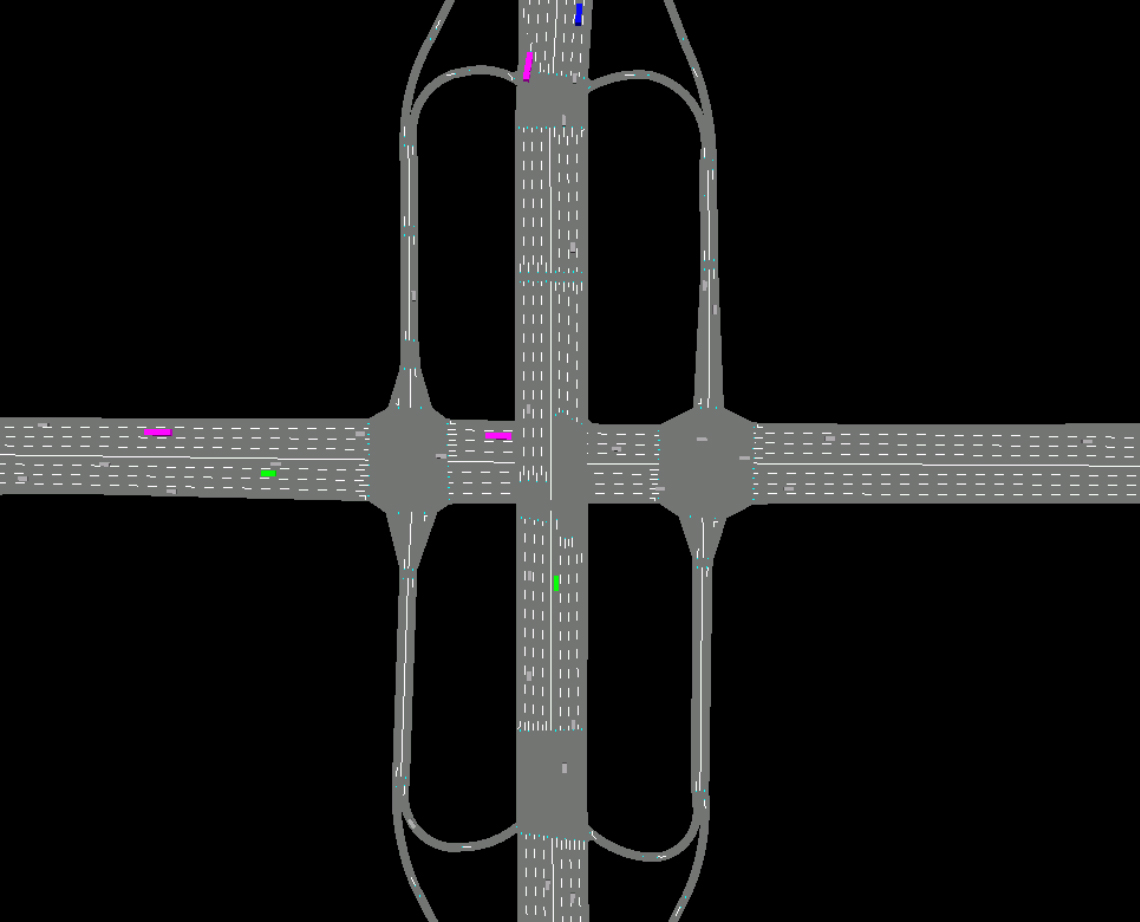 Systematica-Guomao Junction-Vehicular Traffic Simulation of a Proposed Scenario