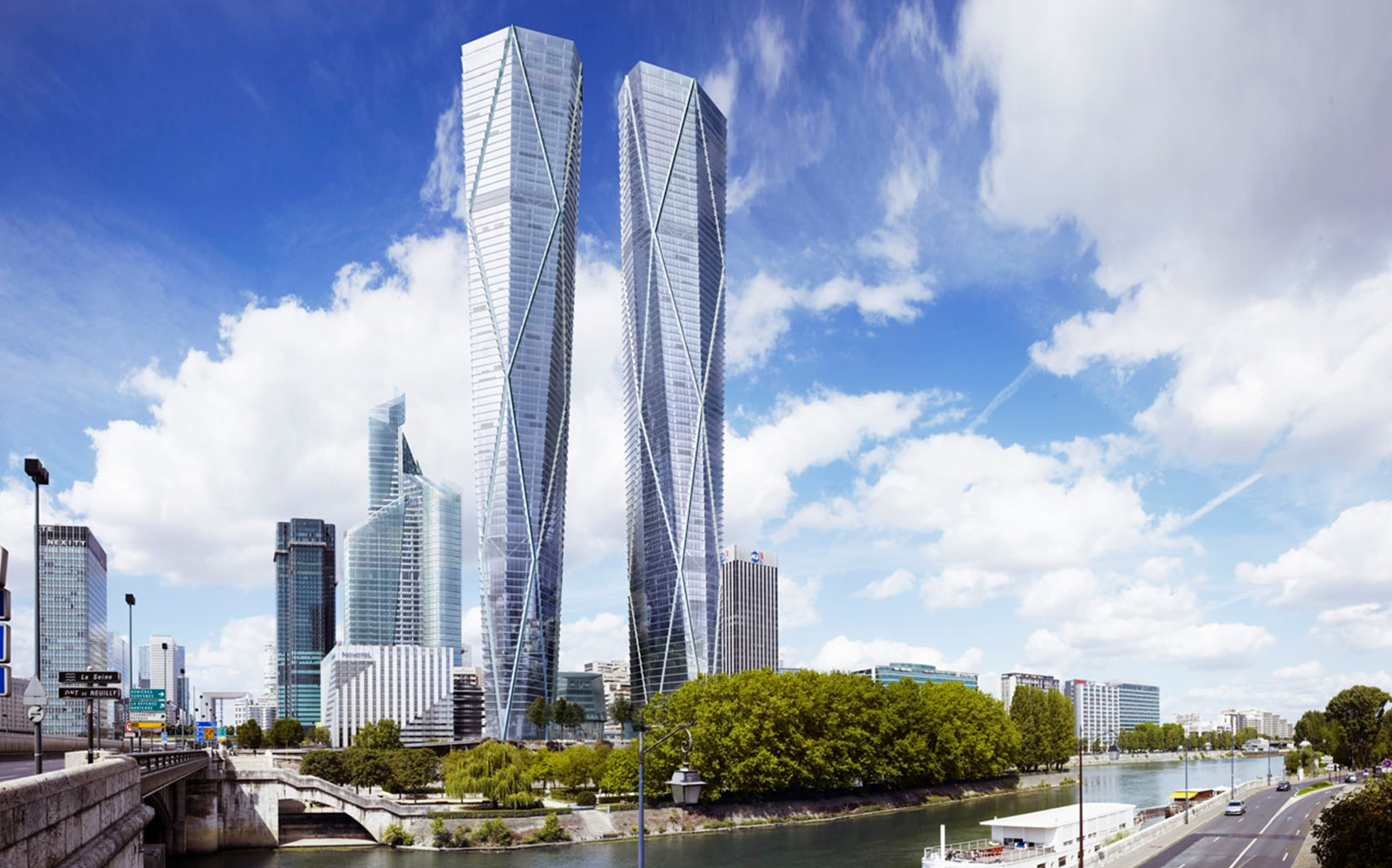 Systematica-Hermitage Towers_Render View