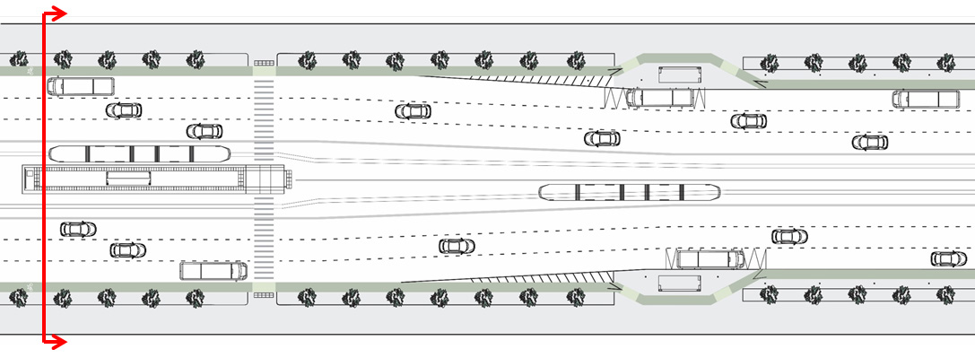 Systematica-Jumeirah-Proposed Road Section_B