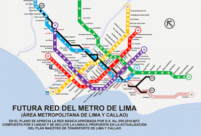 Lima Line 2 Metro Stations