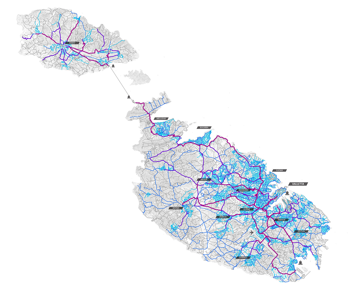 Systematica-Malta-Road Actual Speed Map_A