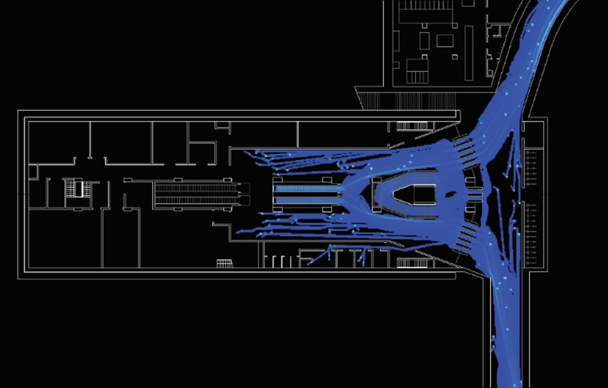 Systematica-Milan Line M4 Metro Stations-Pedestrian Flow Analysis