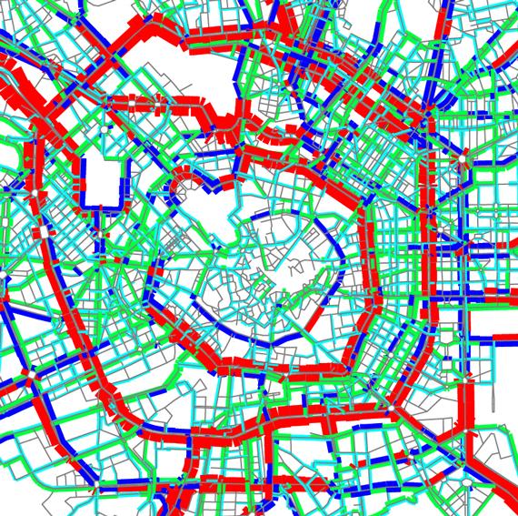 Systematica-Milan Line M4 Metro Stations-Vehicular Macro Simulation