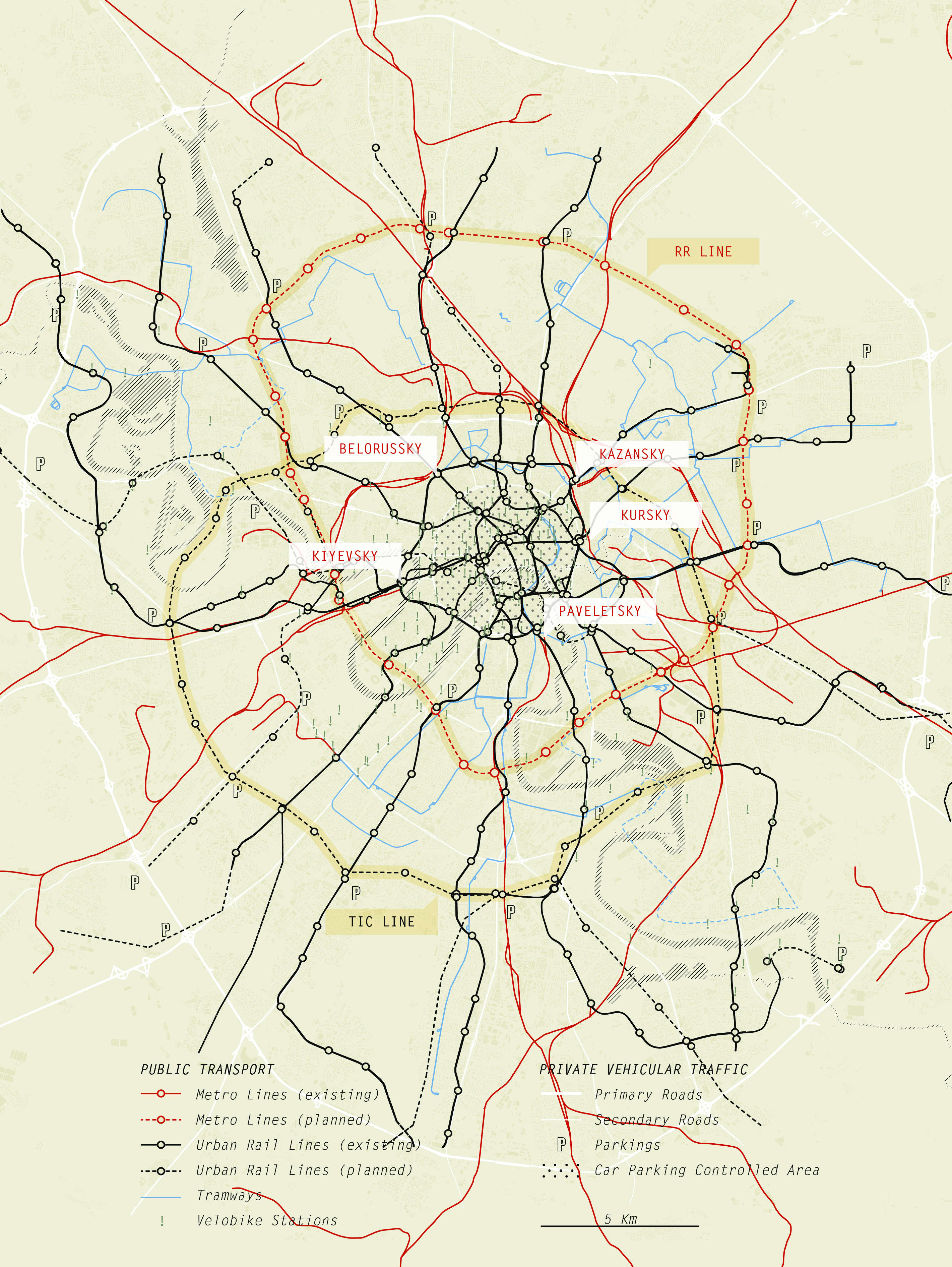 Systematica-Moscow-Multimodal Transport Network