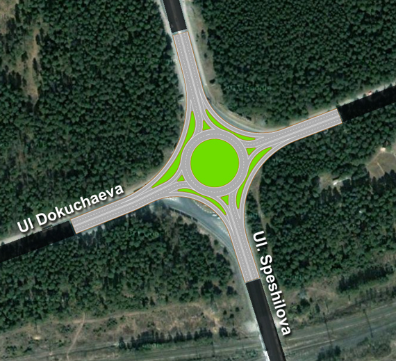 Systematica-Perm -Geometric Configuration of the Roundabout