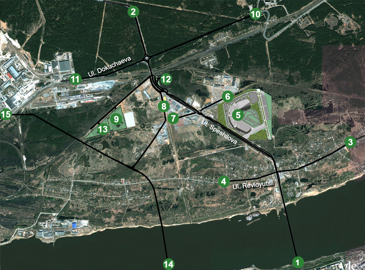 Systematica-Perm-Main Road Network