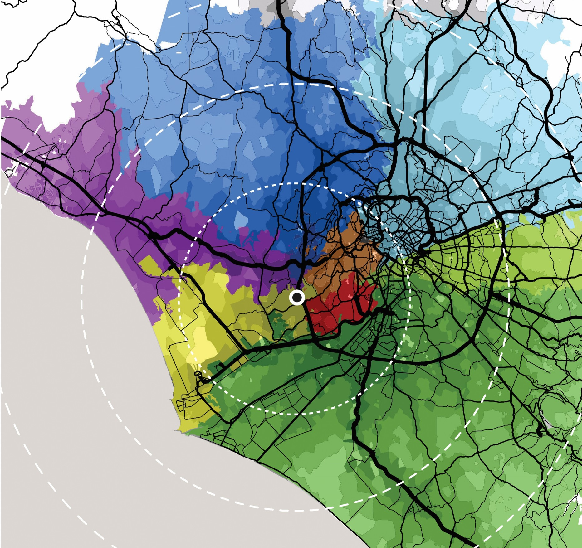 Systematica-Pescaccio Retail Parking-Catchment Area Analysis