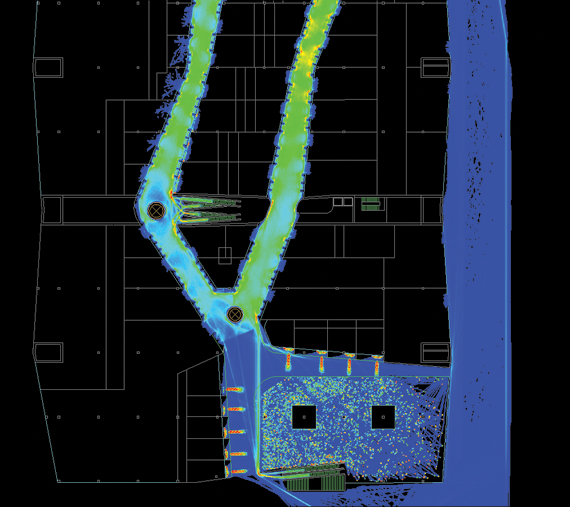 Systematica-Ponte Parodi Shopping Centre-Pedestrian Flow Analysis