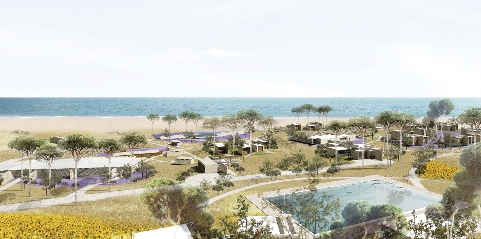 Systematica- Port d'Amour Resort-Render View