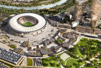 AS Roma Stadium and Tor di Valle Development