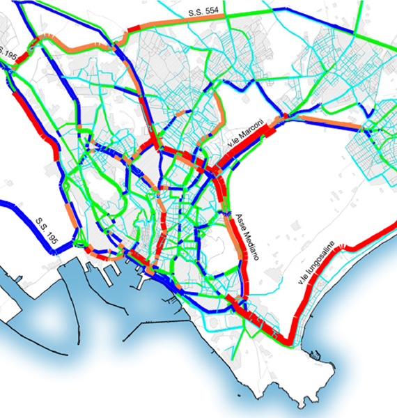 Systematica-SS554 Road Traffic Study-Cagliari Traffic Flow Assessment