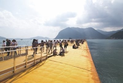 The Floating Piers Art Installation