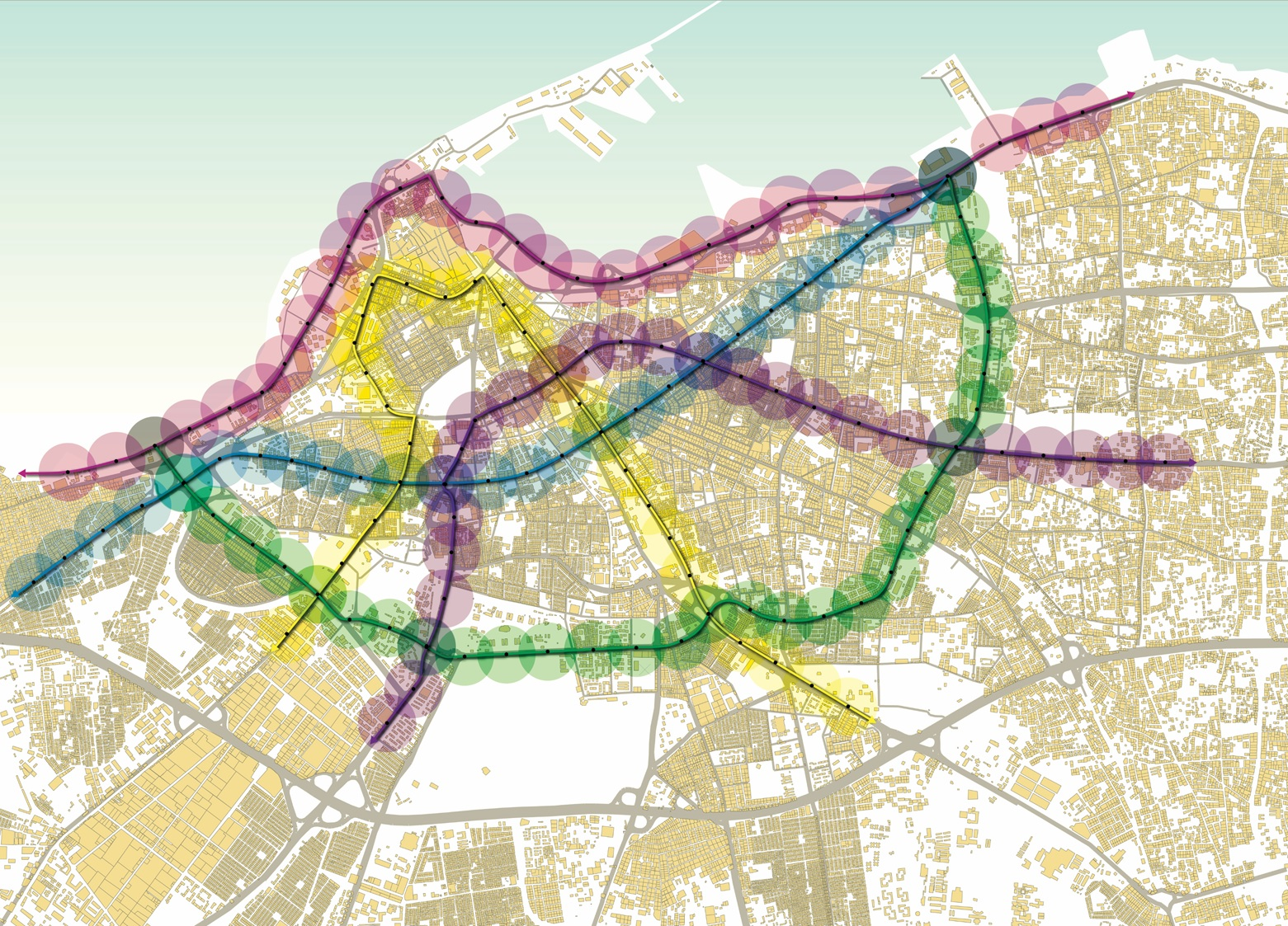 Systematica-Tripoli Mobility Master Plan_PT Network