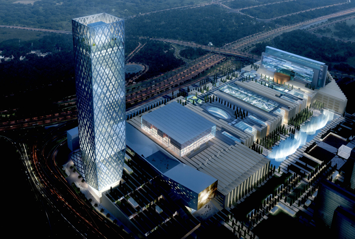 Systematica_Iran Mall Office Tower_Rendered View