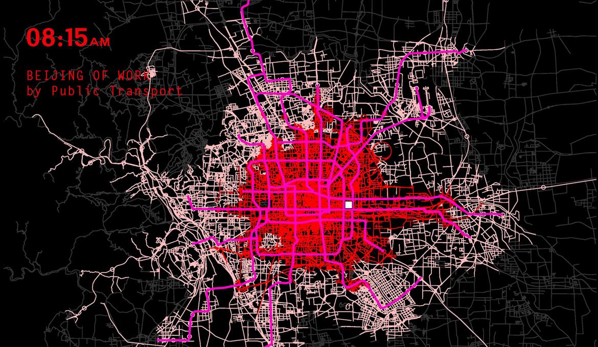 Systematica-Beijing World City Study Program -Isochrone AM PT