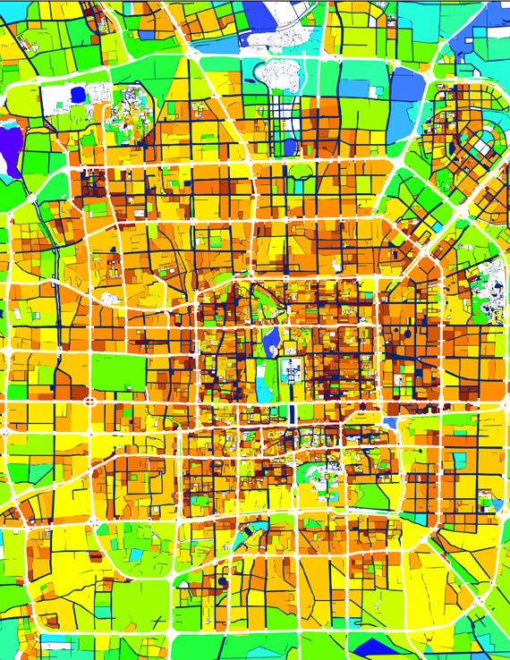 Systematica-Beijing World City Study Program-Service Map