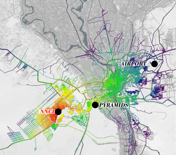 Systematica-Giza New National Cancer Institute-Isochrone Map