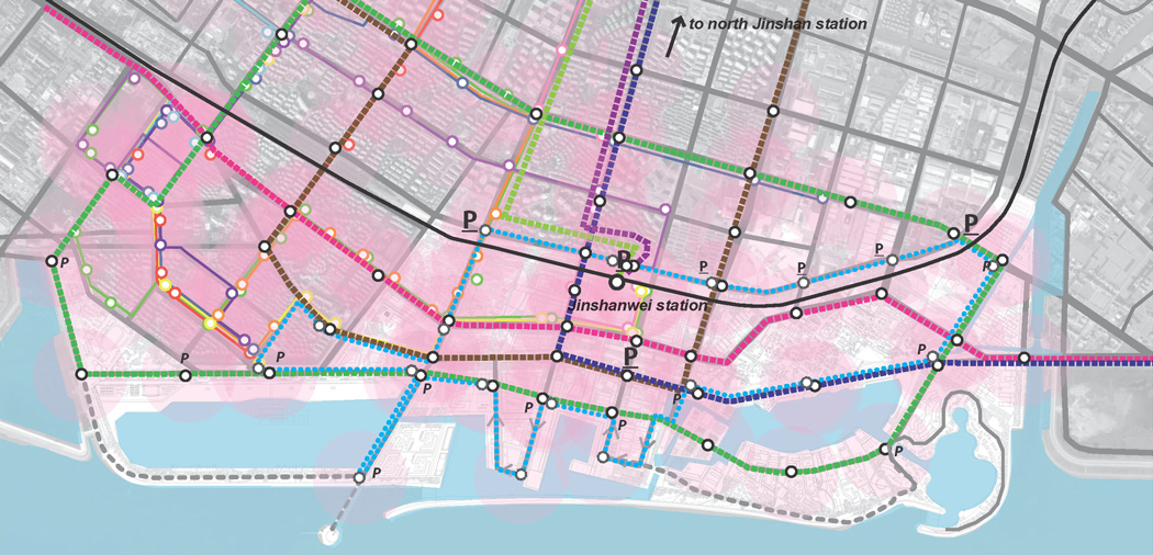 Systematica-Jinshan Waterfront-Public Transport