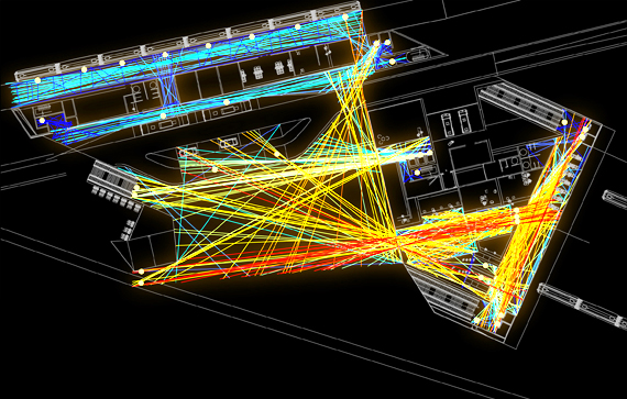 Systematica-Susa Station-1-Pedestrian Paths Analysis of Connectivity