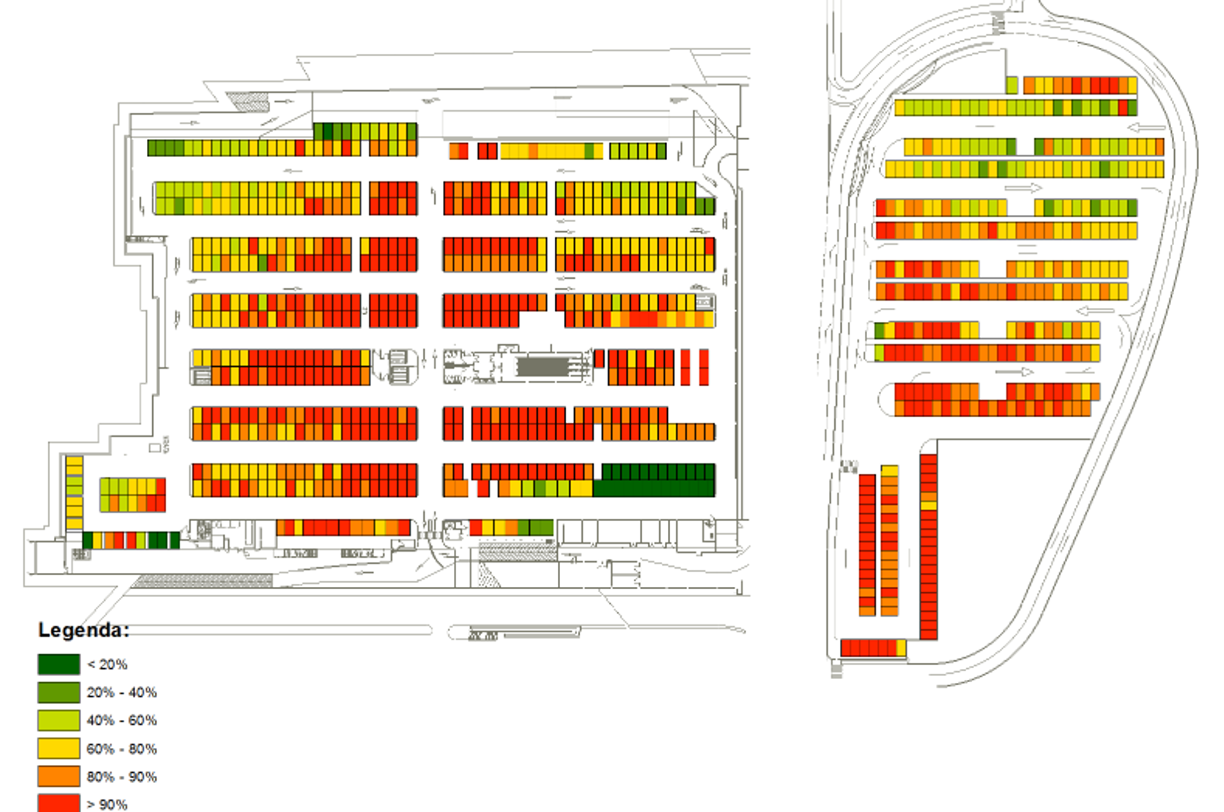 Systematica_Tuscia Shopping Centre_Parking Occupancy Index