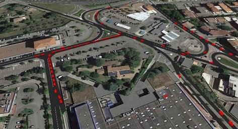 Systematica_Tuscia Shopping Centre_Traffic Simulation_1