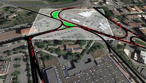 Systematica_Tuscia Shopping Centre_Traffic Simulation_2