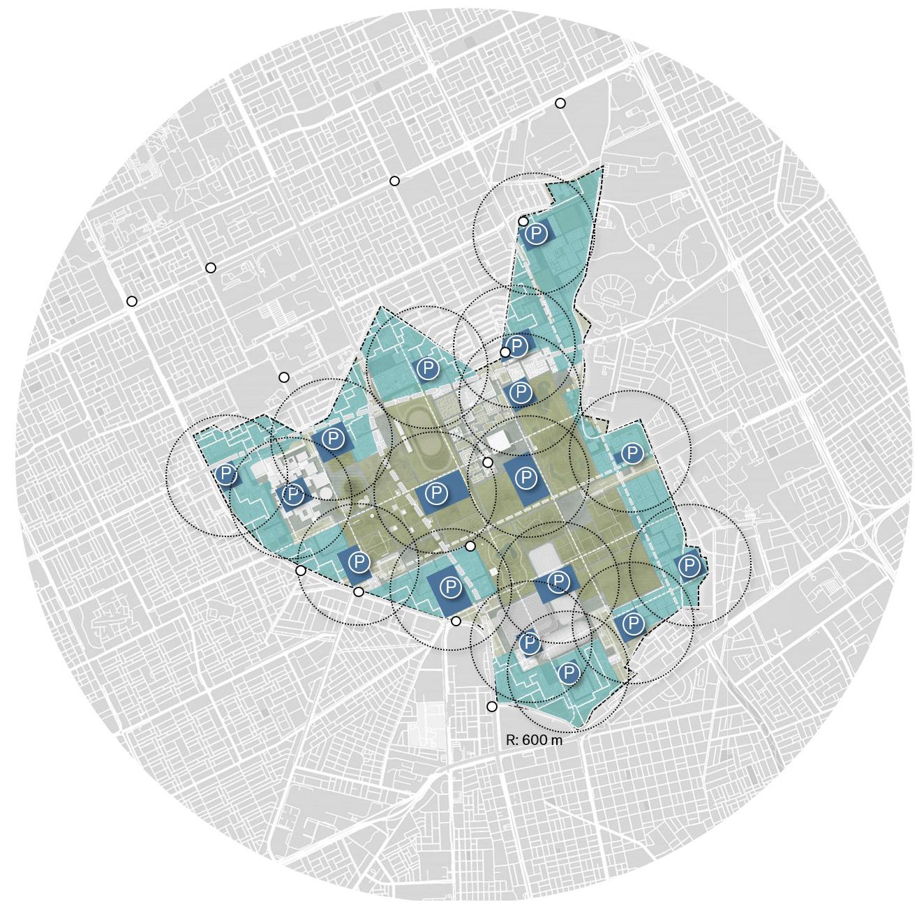 King Salman Park Parking Strategy