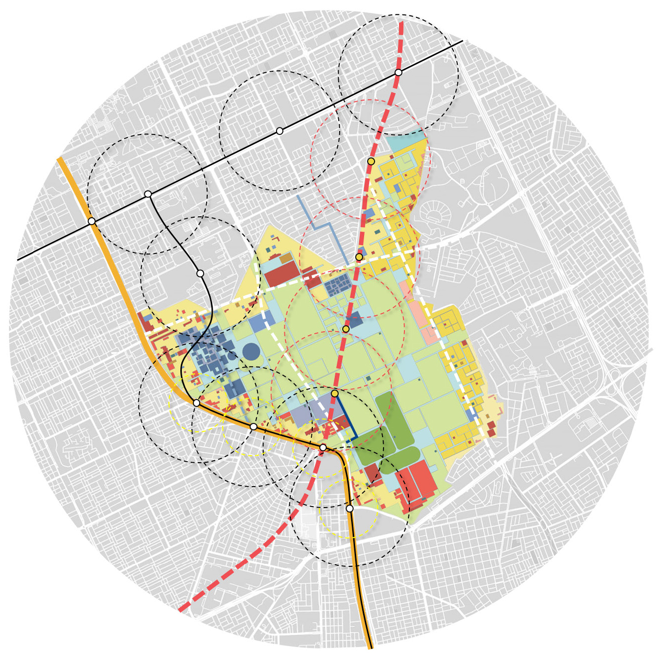 King Salman Park Transit Oriented Development