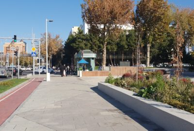 Tashkent City Center Road Redesigns