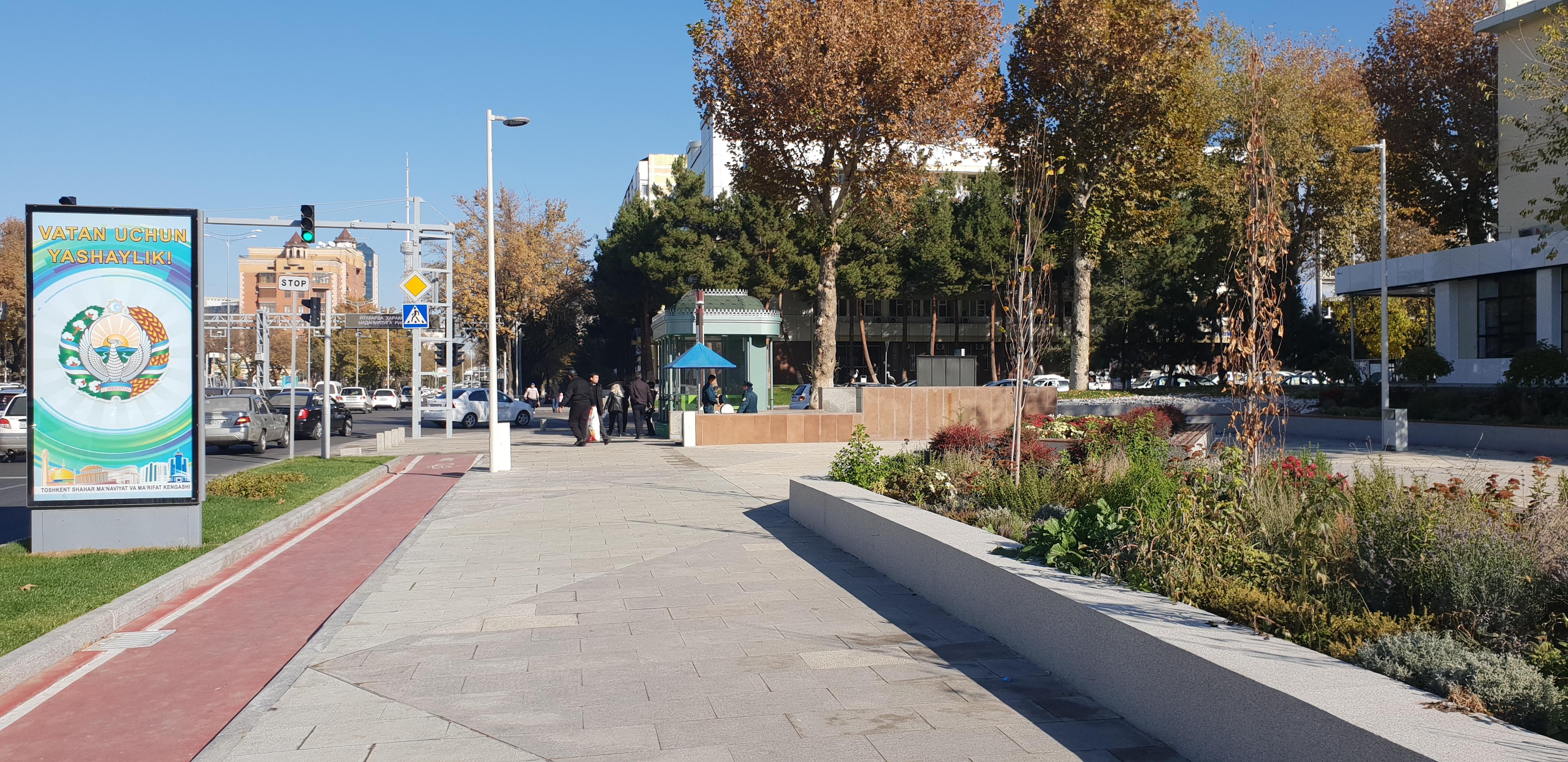 Tashkent Road Redesignh 1