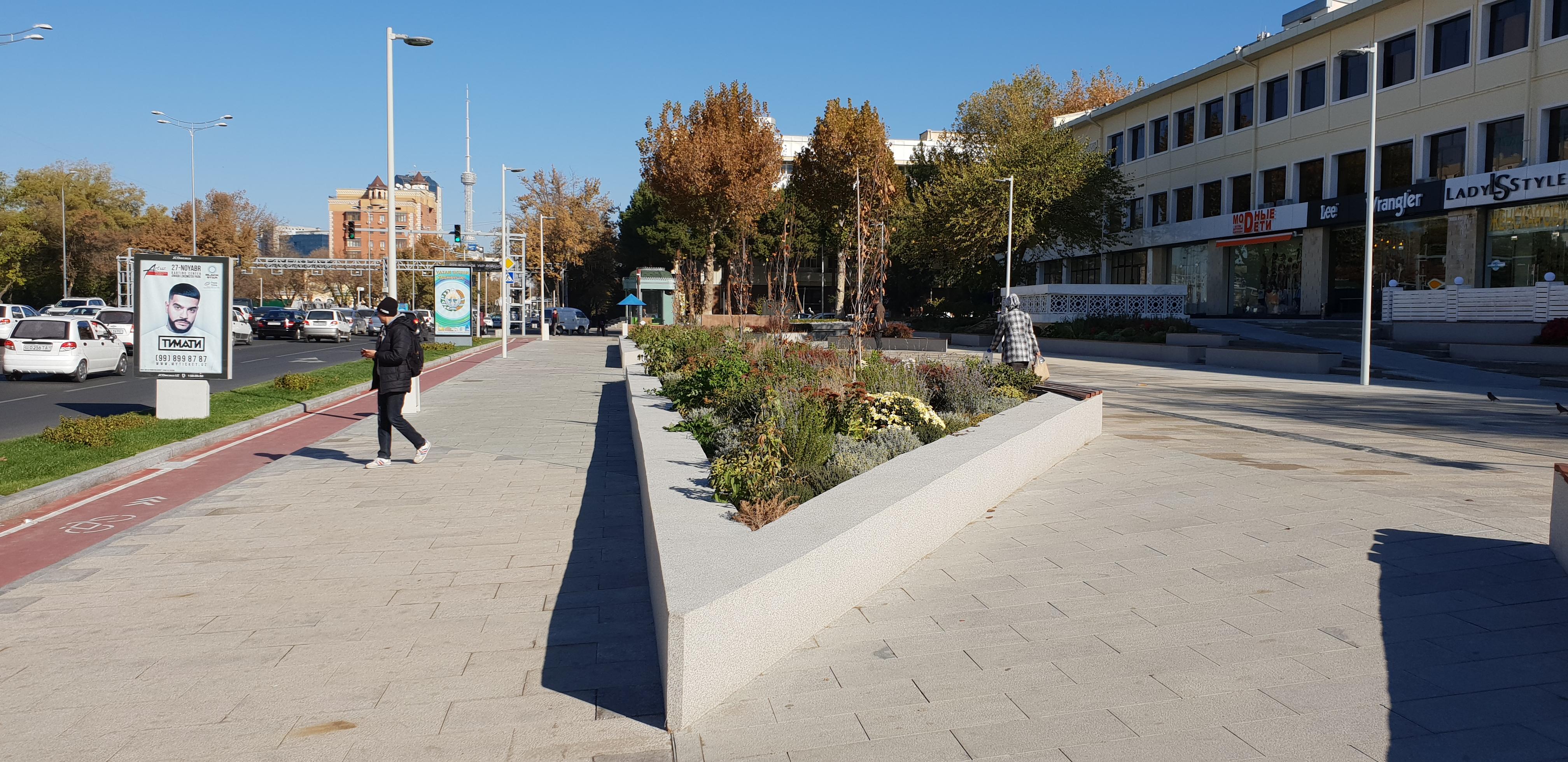 Tashkent Road Redesignh 2