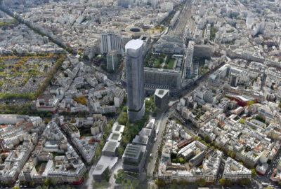 Maine Montparnasse Urban Redevelopment (Awarded Competition - 1st prize)