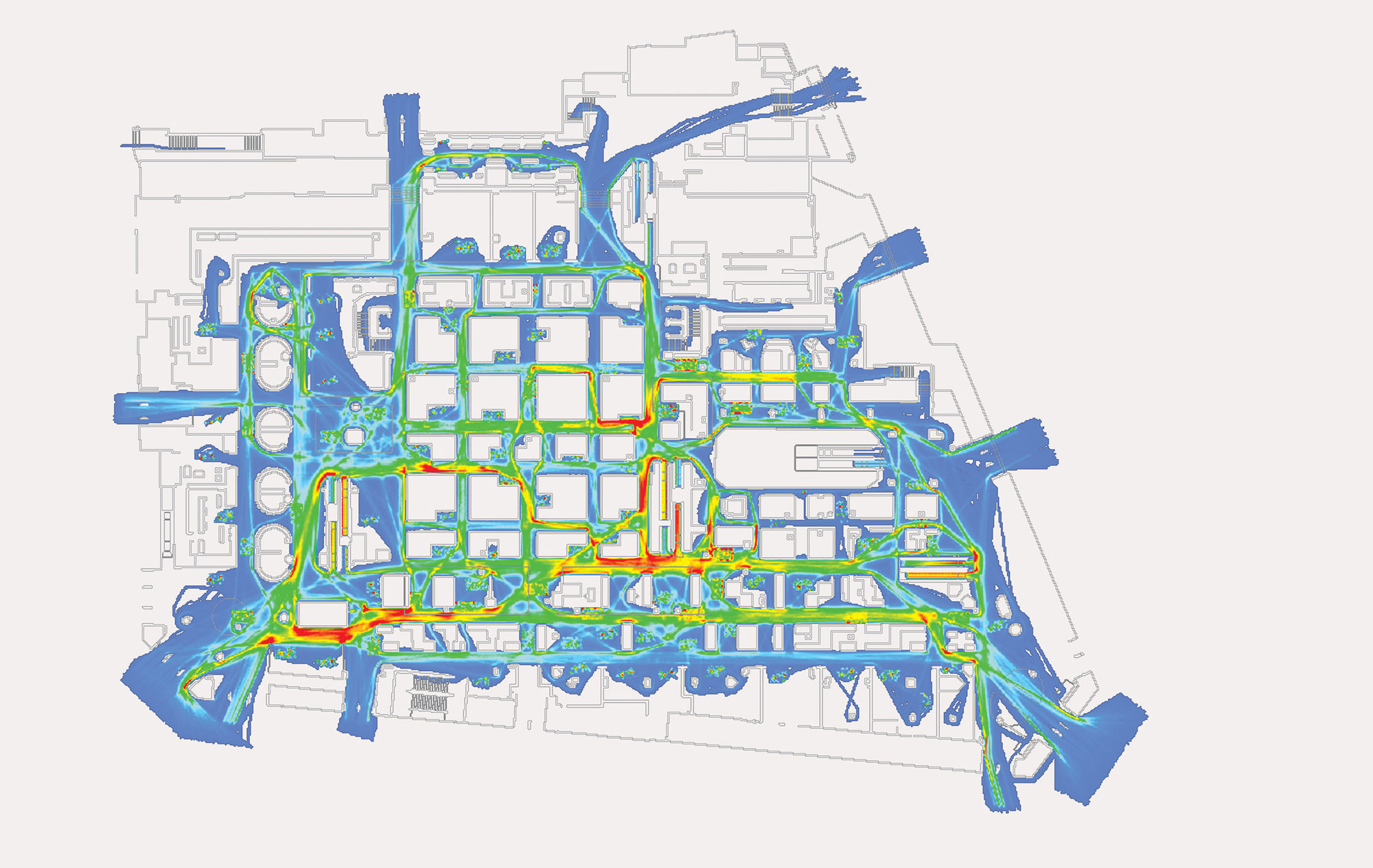 Galeries Lafayette Haussmann, Pedestrian Flow Assessment