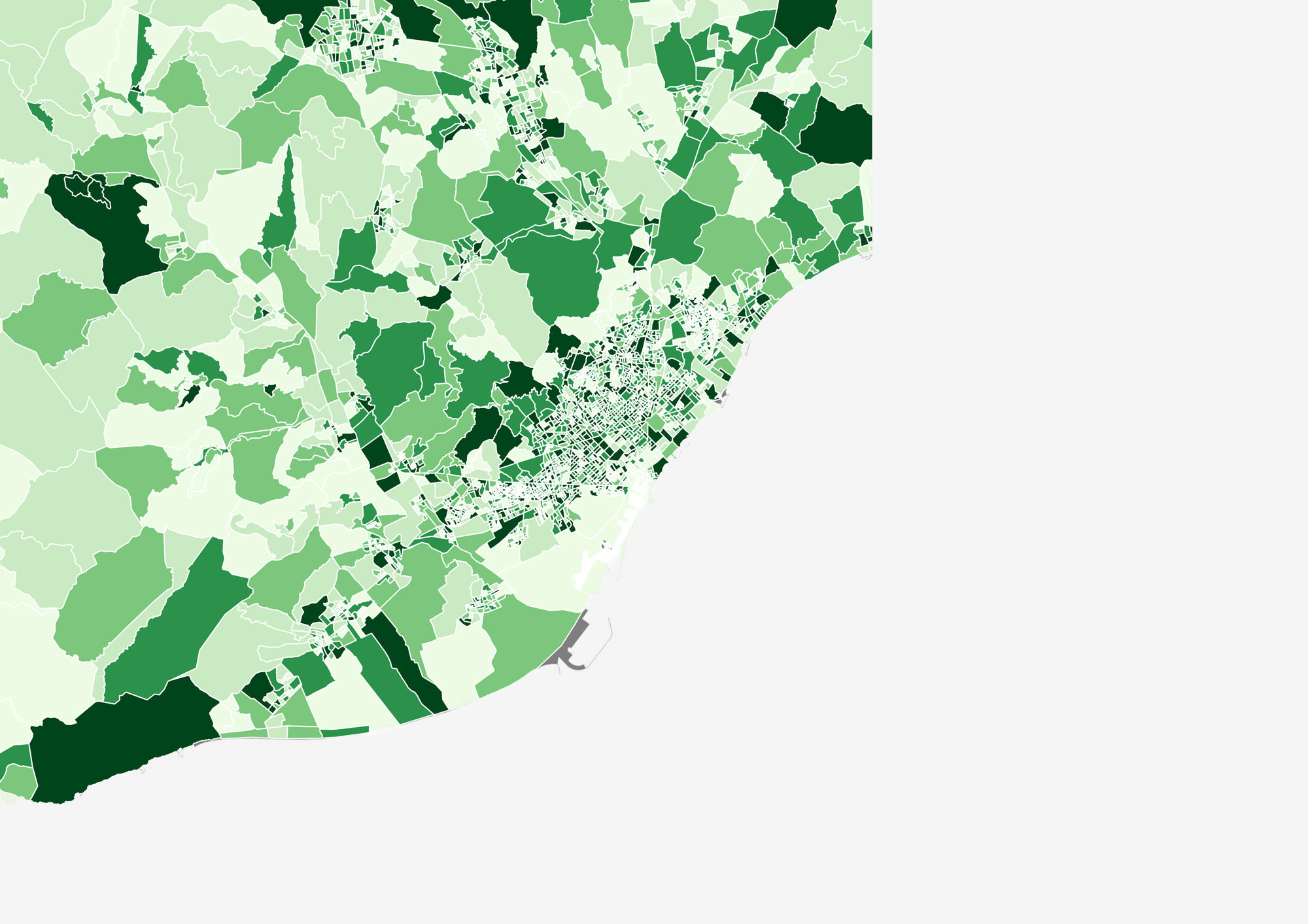H2020 Diamond Project, Ratio of Female Residents in Province of Barcelona