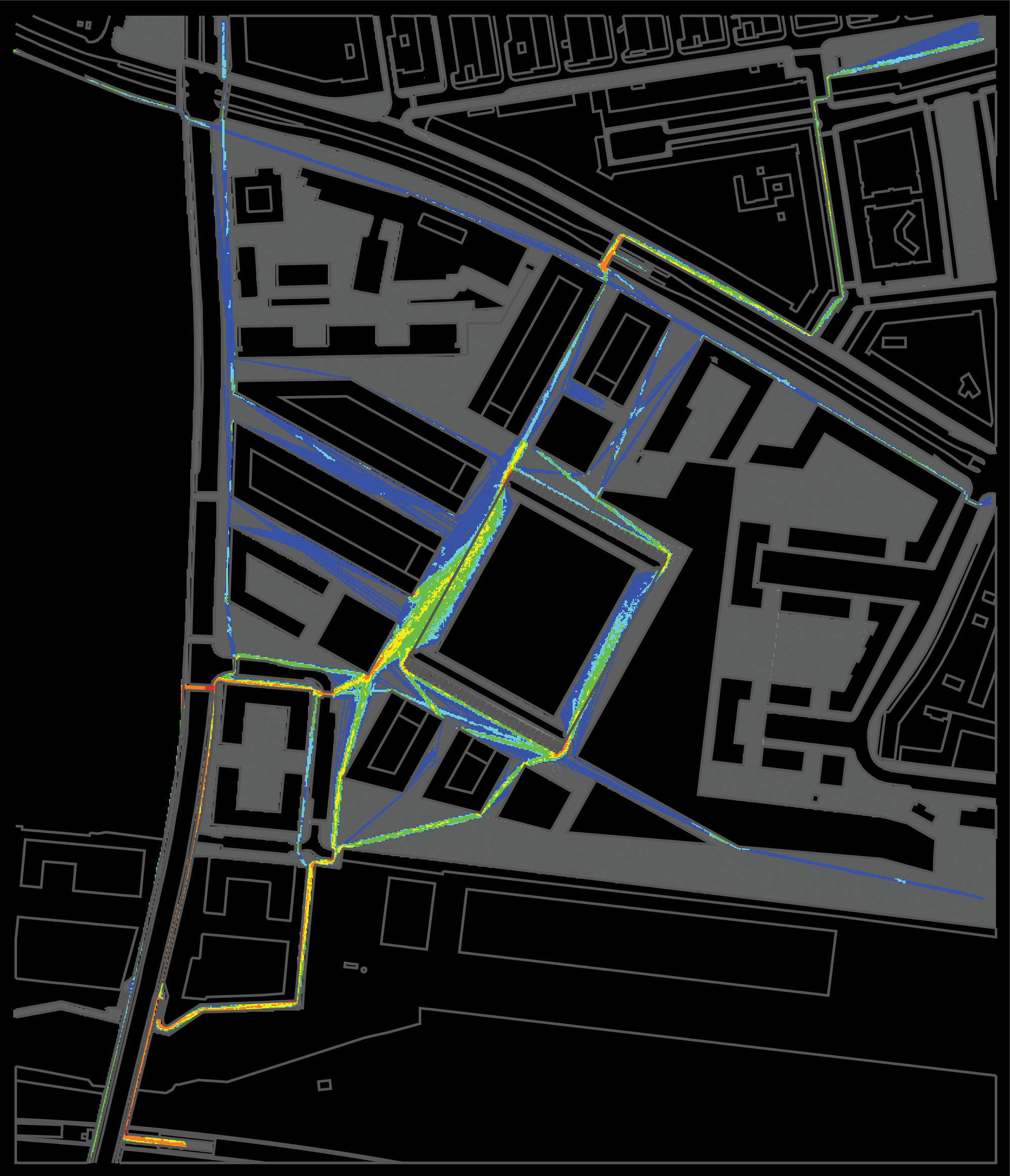 Paketposthalle Munich Transport and Mobility Strategy, Space Utilization